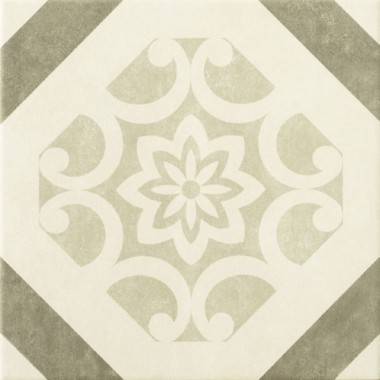 Epoca Art Deco Dec. Taupe 32.5x32.5