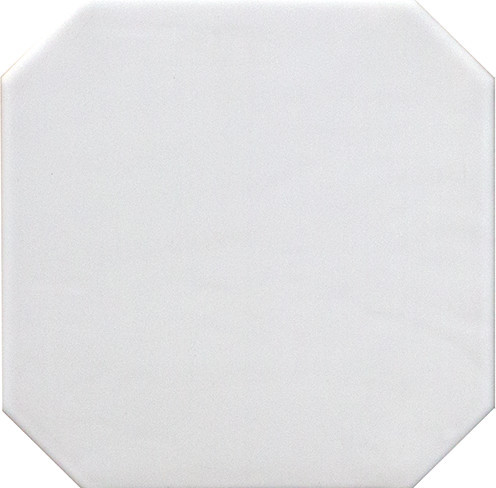 Equipe Octagon Bianco Mate 20x20