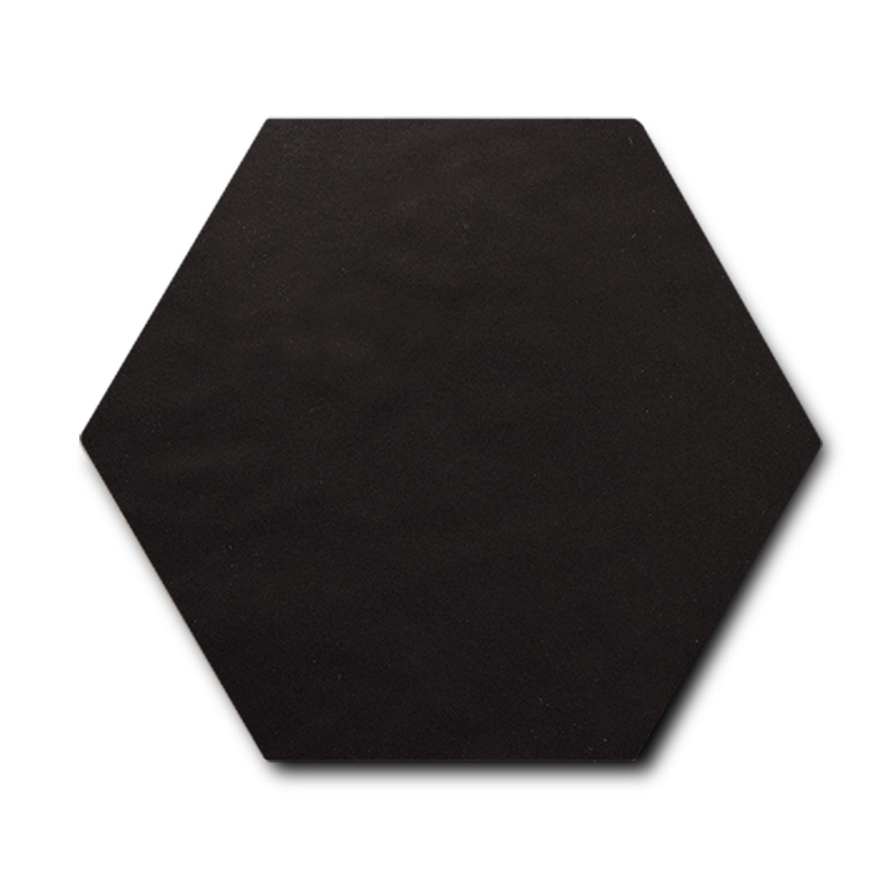 Equipe Scale Porcelain Hexagon Black Matt 11,6x10.1