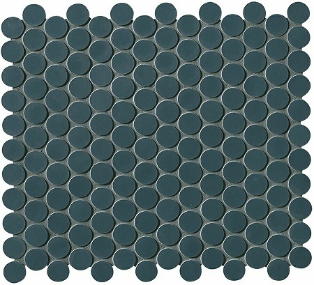 Fap Boston Petrolio Mosaico Round 29,5x32,5