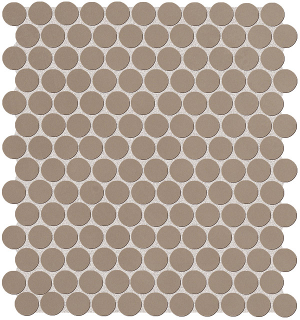 Fap Color Now Fango Round mosaico 29,5x32,5