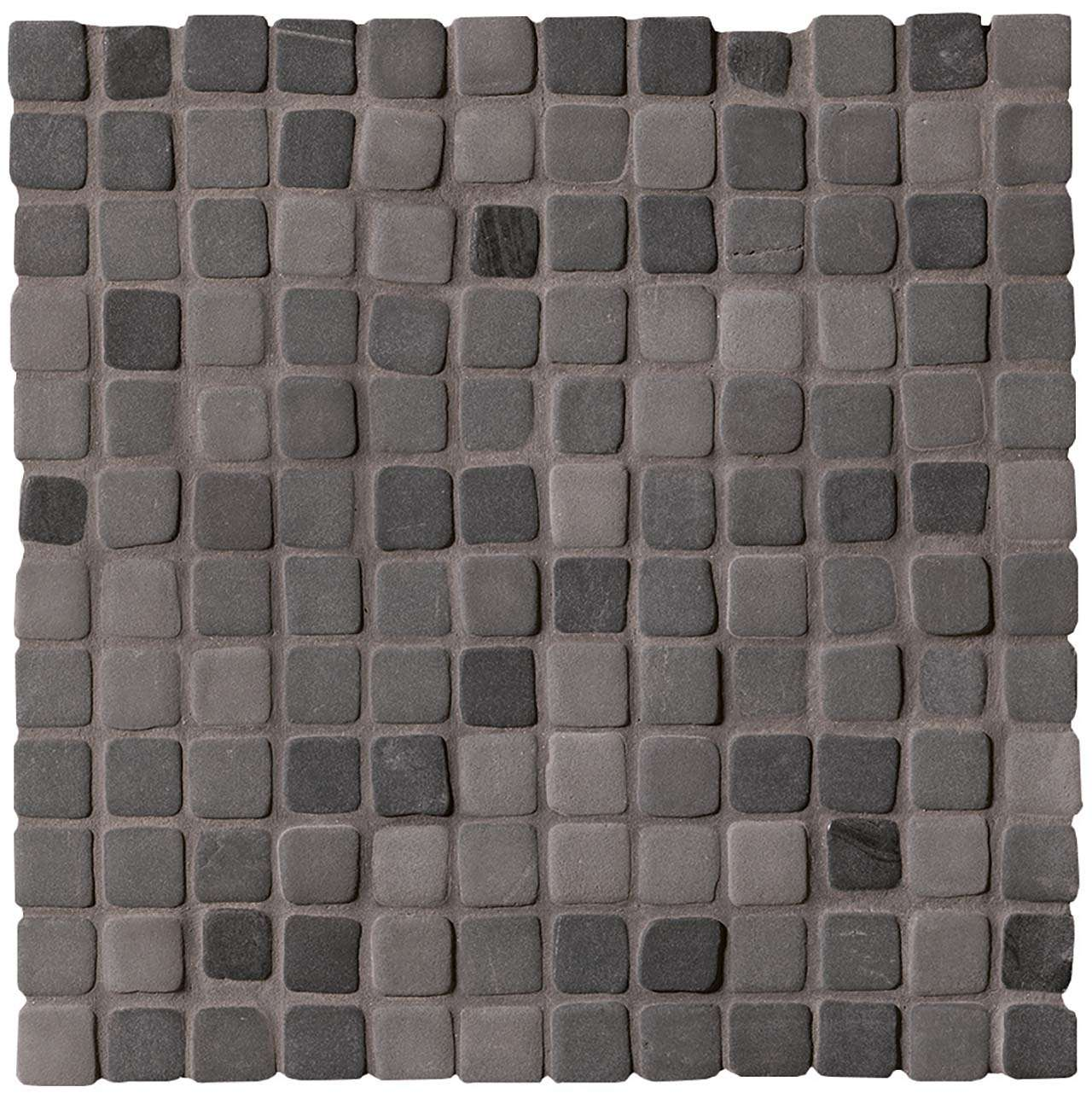 Fap Nord Smoke Solid Color Mosaico Matt 30x30