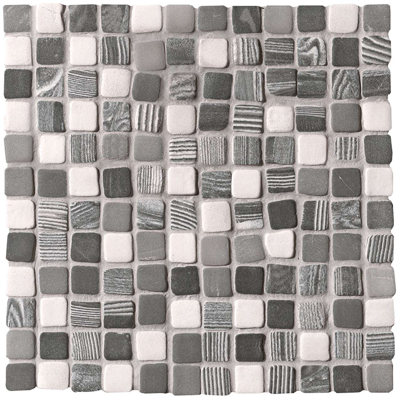 Fap Nord Optical Solid Color Mosaico Matt 30x30