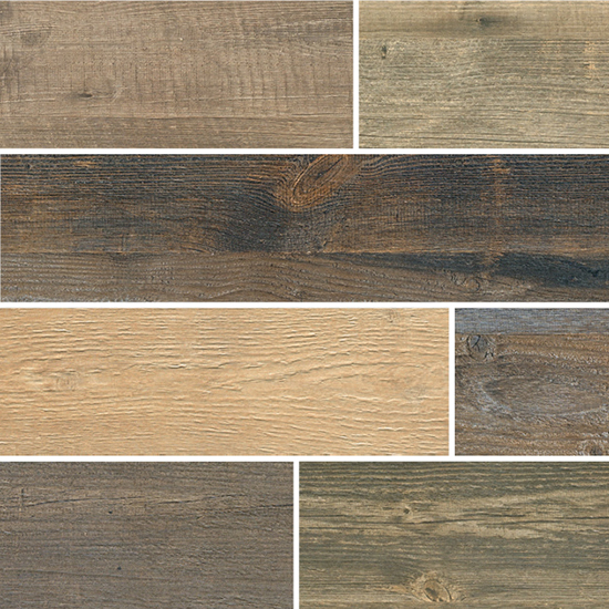 Fioranese Cottage Wood Mix 5 Colori Nat/ Ret 13x61