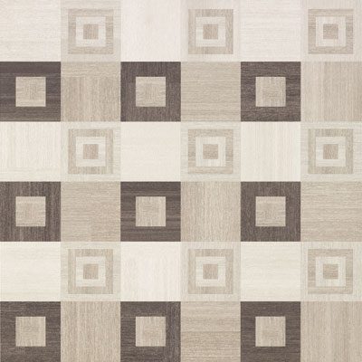 Fondovalle Rug Home Square Dark Dec. 60x60
