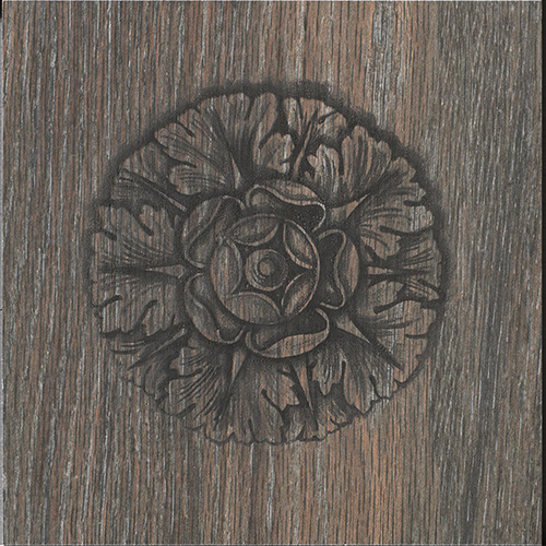 Iris French Woods Formella Frieze Larch 20x20