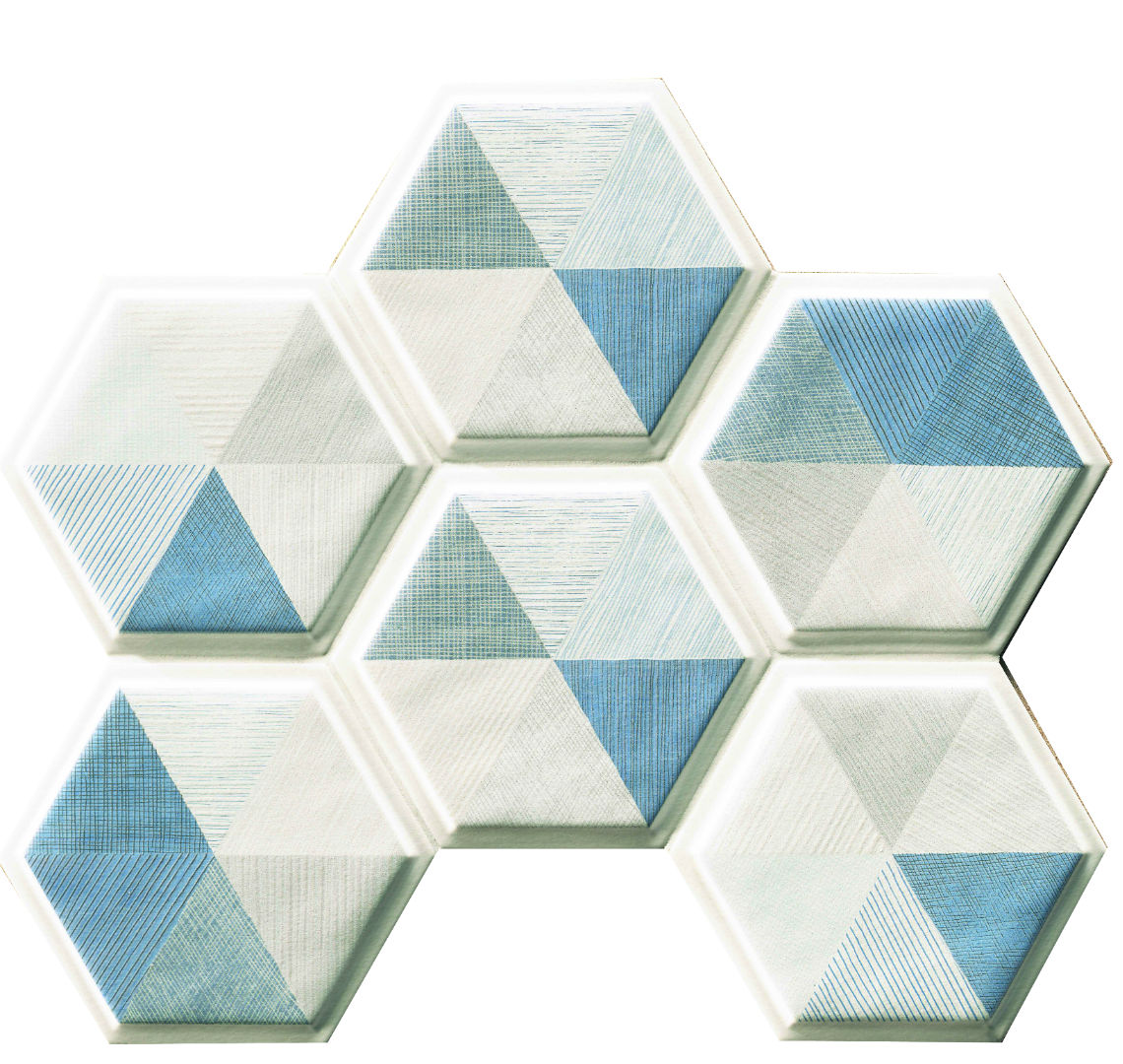Natucer New Panal Decor Mood Hex 15x17