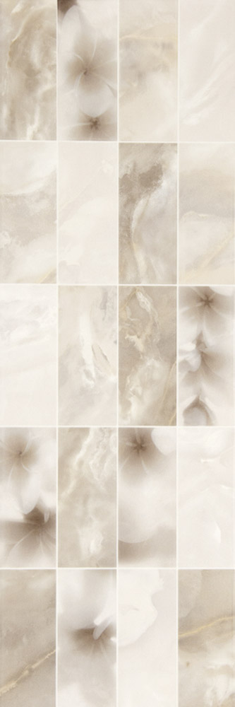Plaza Silk Dec Seda Mix Blanco 20x60
