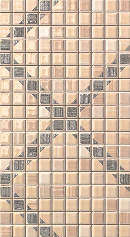 FAP Pop Up Squares Beige Inserto 25x45