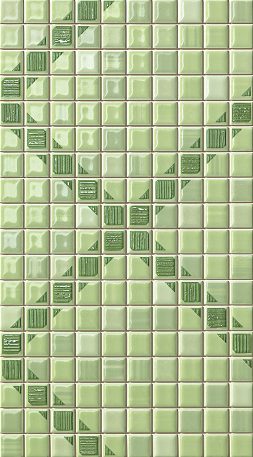 FAP Pop Up Squares Green  Inserto 25x45