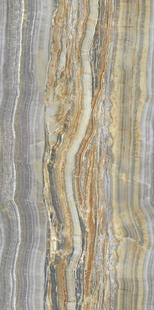 Ariostea Ultra Onici Grey Onyx Vein Cut Luc Shiny 150x75