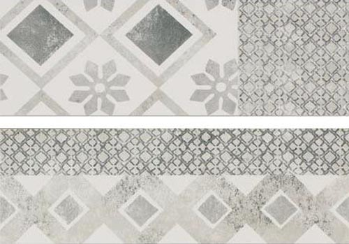 Cerim Vintage Collection Decor Geometric Milk Mix A/2 25x75