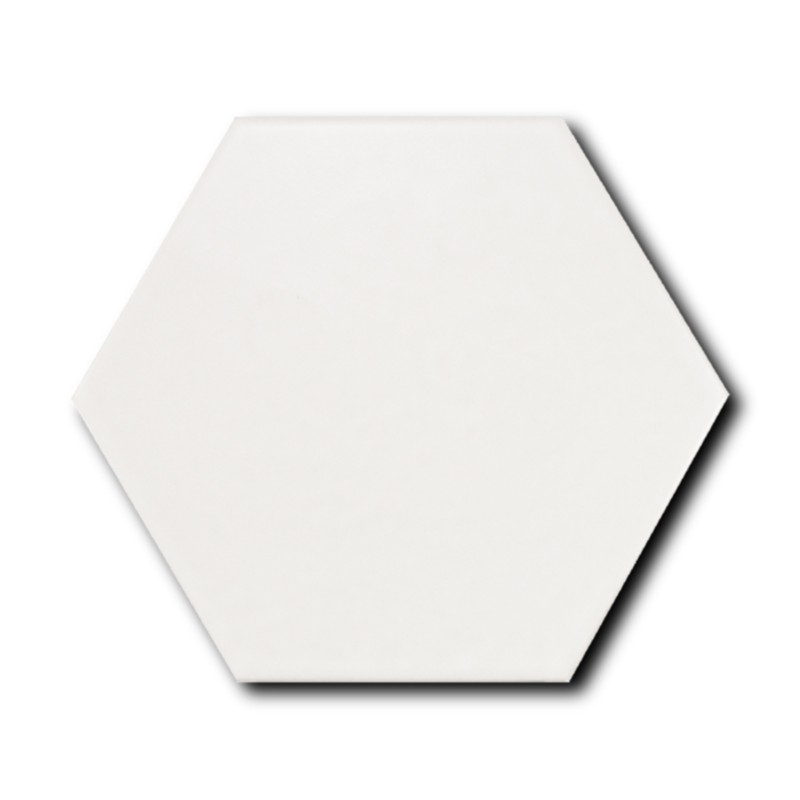 Equipe Scale Porcelain Hexagon White Matt 11,6x10.1