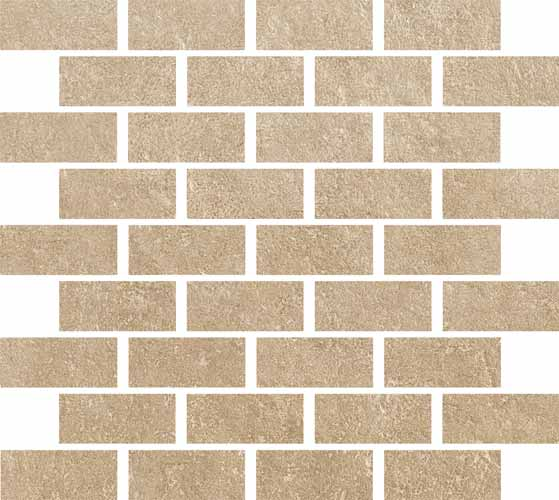 Polis Evolution Clay Mosaico Mattoncino 30*30