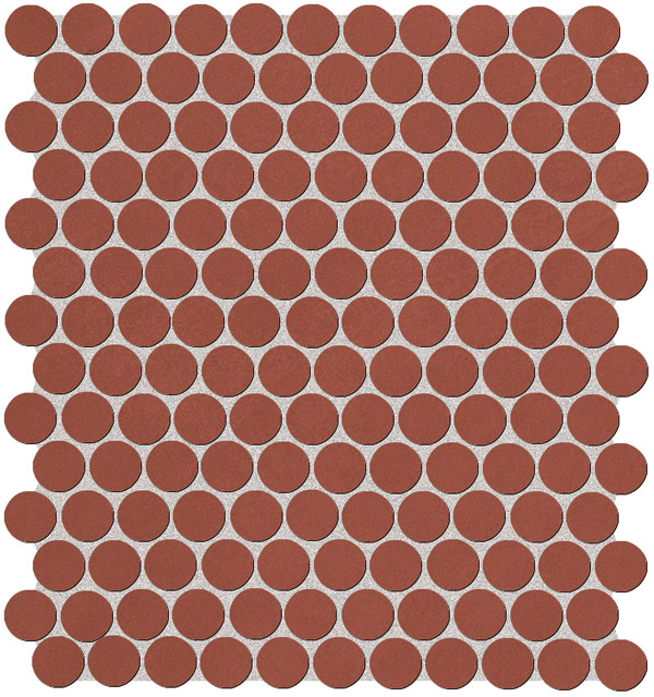 Fap Color Now Marsala Round mosaico 29,5x32,5