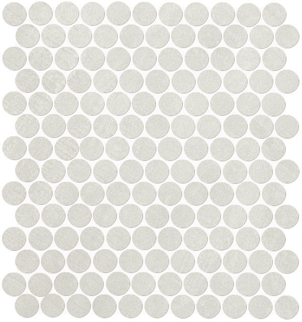 Fap Color Now Perla Round mosaico 29,5x32,5
