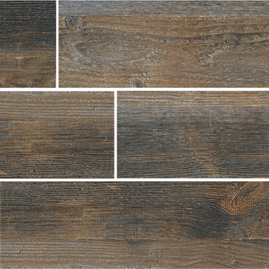 Fioranese Cottage Wood Ruggine Nat/ Ret 13x61