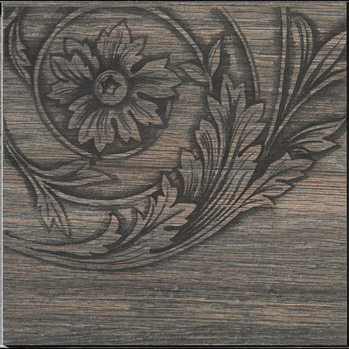 Iris French Woods Formella Curly Larch 20x20