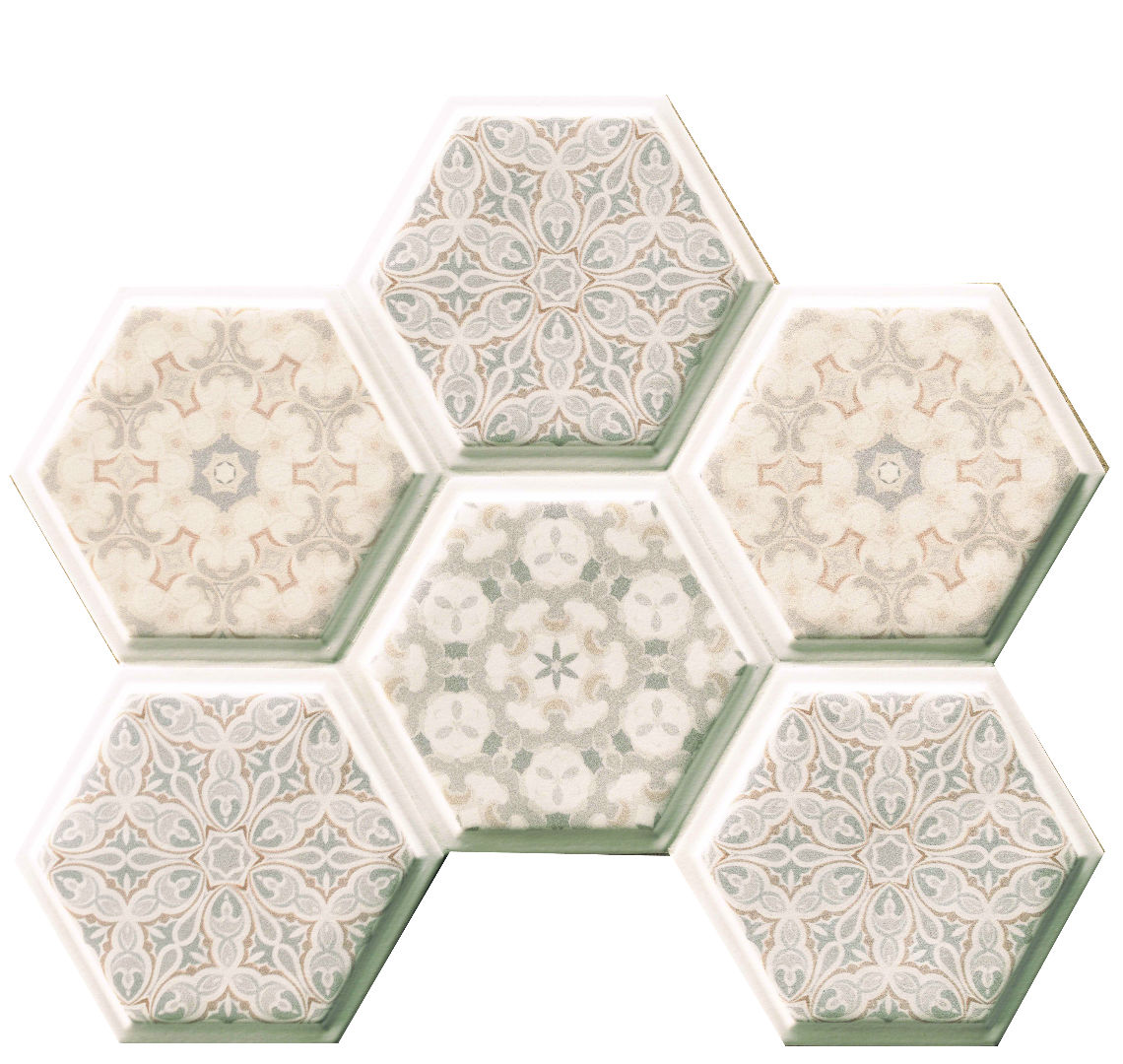 Natucer New Panal Decor Tempo Hex 15x17