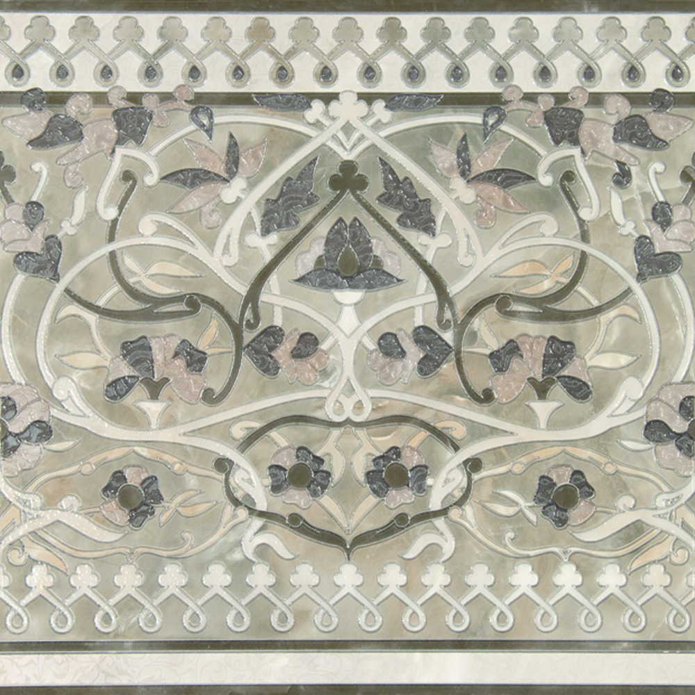 Plaza Silk Blanco Lateral 45x45