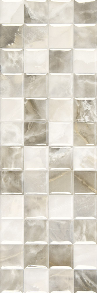 Plaza Dec Silk Blanco 20x60