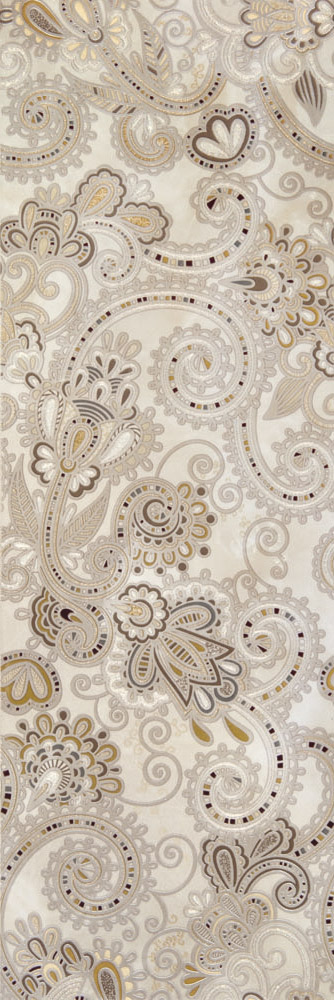 Plaza Silk Dec. Cachemir Beige 20x60